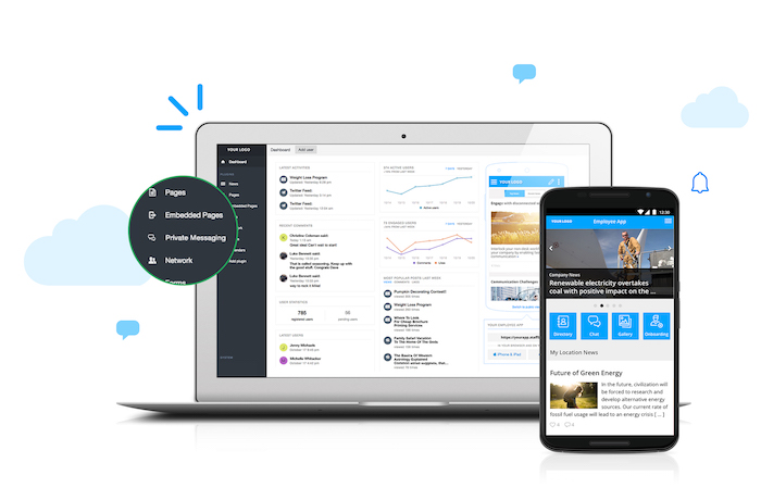 StaffbaseProduct Laptop Mobile Dashboard